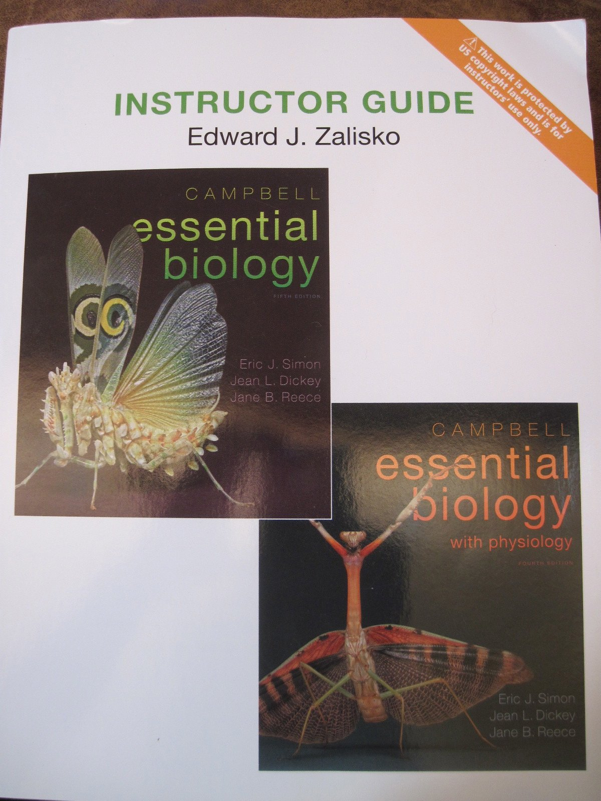 Download Instructor Guide for Campbell Essential Biology 5th Edition & Physiology , 4th Edition pdf epub
