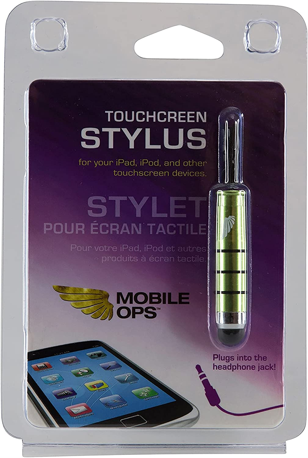 Mobile Ops Touchscreen Stylus Charm Green 10766 Pack of 6