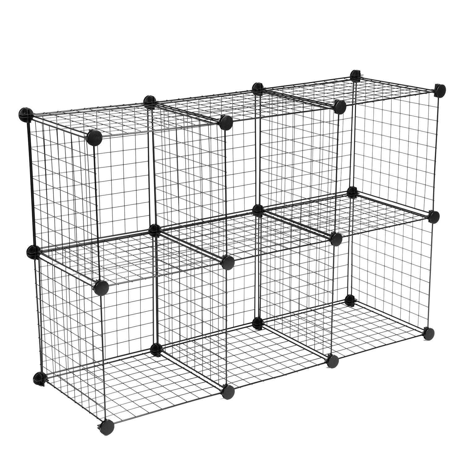 Amazon.com: Wire Storage Cubes, MaidMAX Free Standing Modular ...