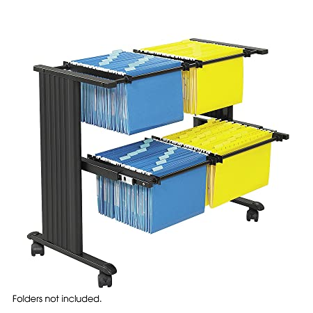 Safco Muv Double Width Filing Cart