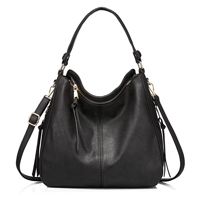 2ca594b7fb1a Amazon.com  Handbags for Women Large Designer Ladies Hobo bag Bucket Purse  Faux Leather  Shoes