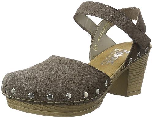 Rieker Damen 66761 Geschlossene Sandalen