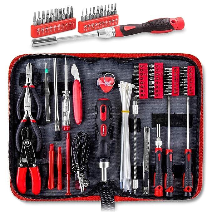 Kit de herramientas Apollo - 73 piezas para reparación y mantenimiento para ordenadores, Tablets, teléfono móvil y piezas electrónicas: Amazon.es: Bricolaje ...