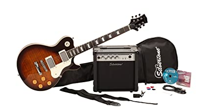 Amazon Com Silvertone Ssl3 Electric Guitar And Amp Package Vintage
