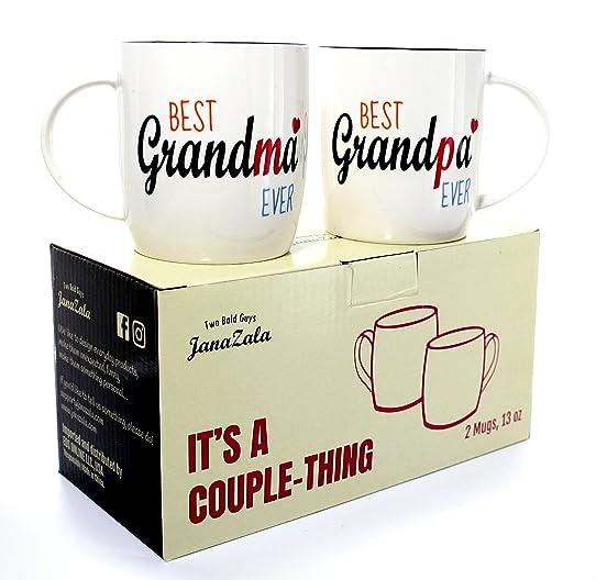 Connu Janazala Tasses À Café Les Grands-parents, Mug Pour Papi Et Mamie  IS19
