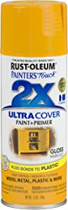 Rust-Oleum 249124 Painter's Touch Multi Purpose Spray Paint, 12-Ounce, Apple Red - 6 Pack