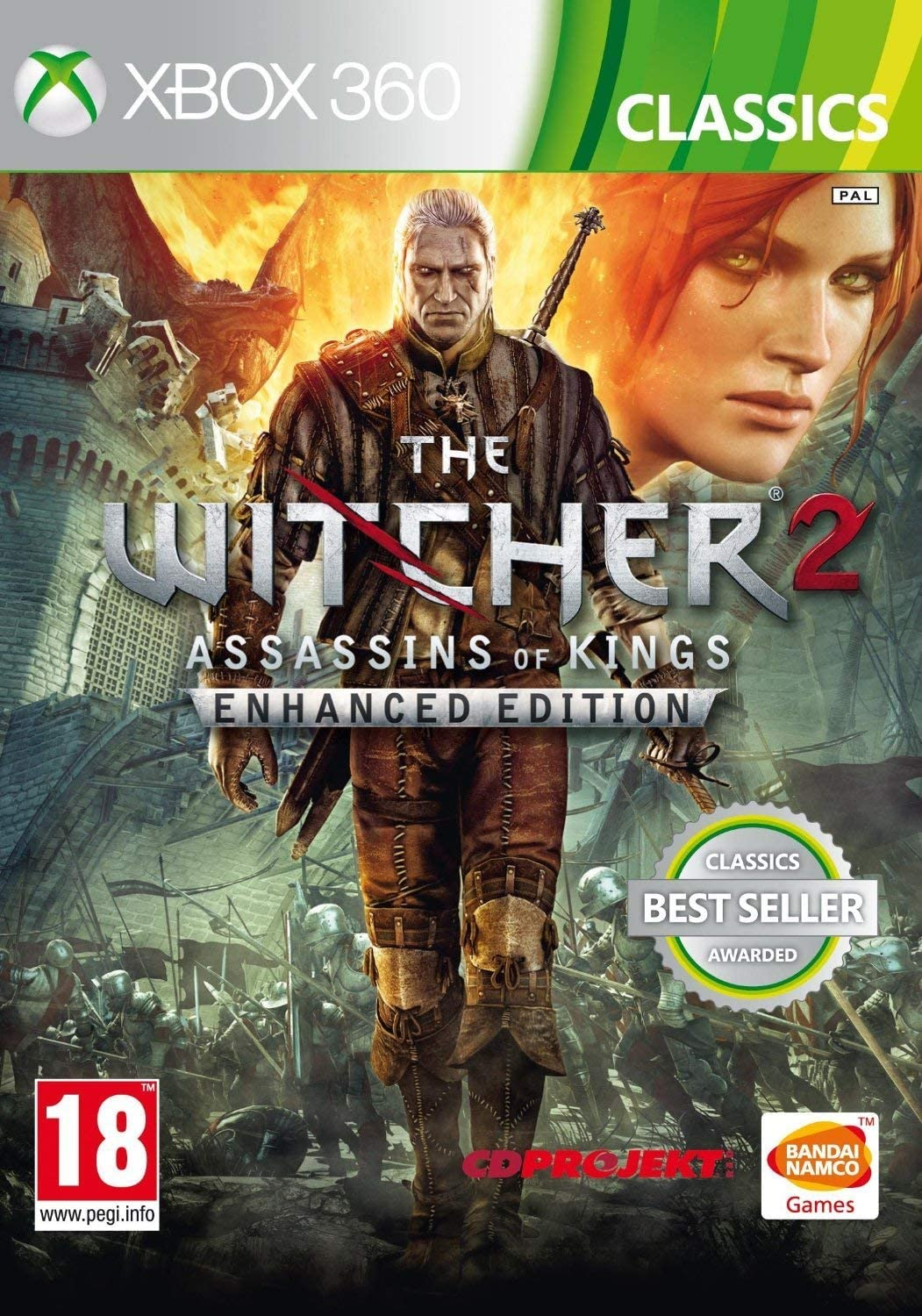 The Witcher 2 Assassins of Kings Enhanced Edition: Classics (Xbox ...