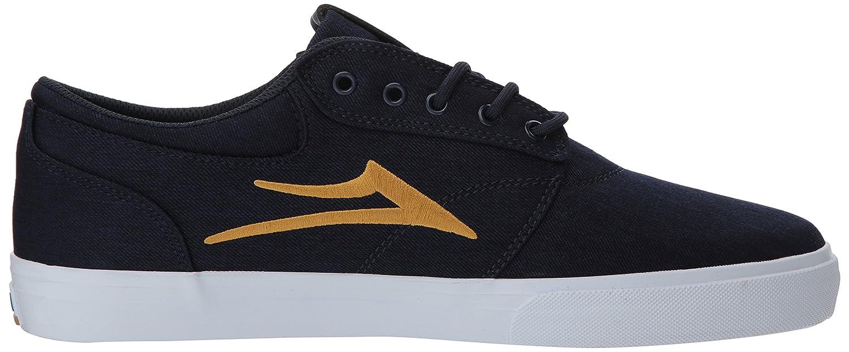 Lakai Griffin 10 Skate Shoe B073SP23FH 10 Griffin M US|Navy/Gold Textile a37524