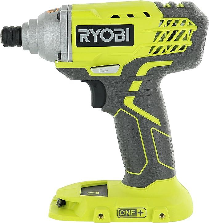 Ryobi Impact Driver Kit w Batt Charger Tool Bag Li-Ion Cordless 18Volt 1//4 in.