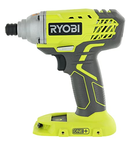 Ryobi P235 1 4 Inch One 18 Volt Lithium Ion Impact Driver with 1,600 Pounds of Torque Battery Not Included, Power Tool Only