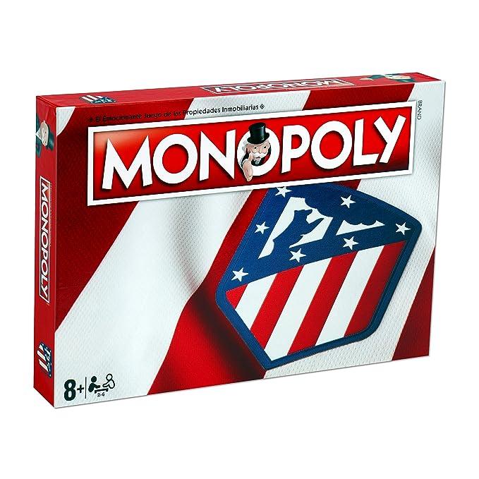 Winning Moves Monopoly Atletico Madrid (10230), Multicolor: Amazon ...