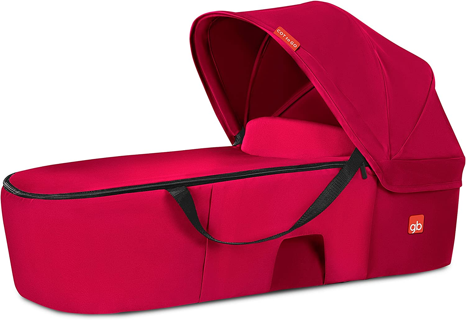 gb Gold para sillas de paseo Qbit+ y Pockit+ Capazo Cot to Go Cherry Red