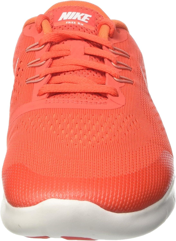 Nike Kids' Free Rn (Big Max Orange Pure Platinum 800