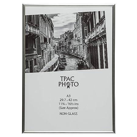 The Photo Album Company A3MARSIL 30 x 42 cm A3 Photo Frame - Silver ...
