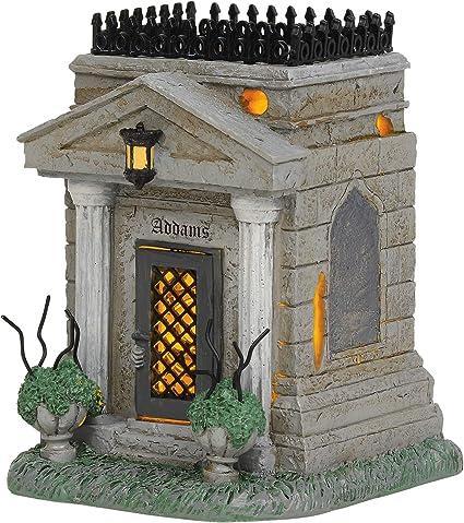 Multicolor 3.27 Department56 Addams Family Village Accessories Uncle Fester Lit Figurine