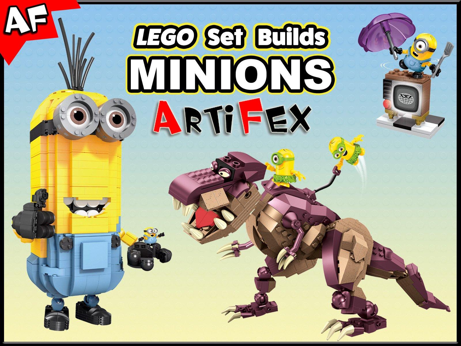 Clip: Lego Set Builds Minions on Amazon Prime Video UK