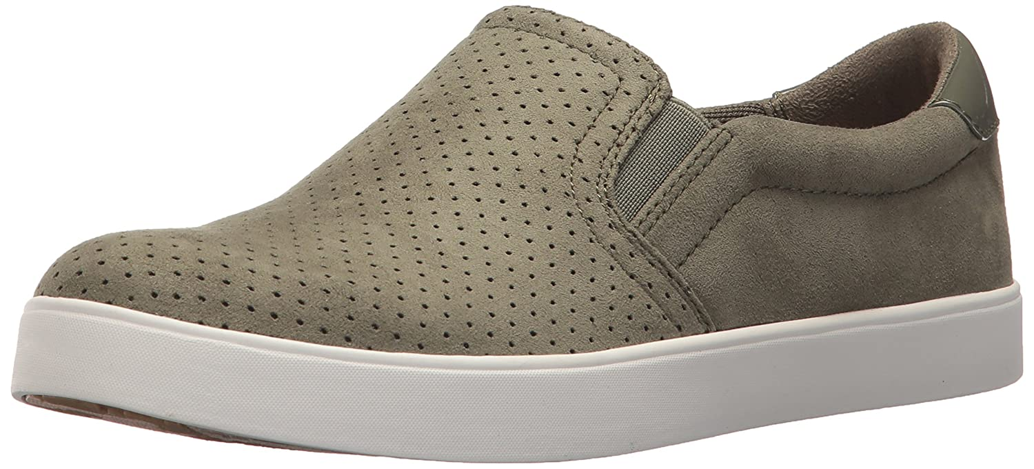 Dr. Scholl's Women's Madison Fashion Sneaker B075ZYCC6D 8 B(M) US|Willow Microfiber Perforated