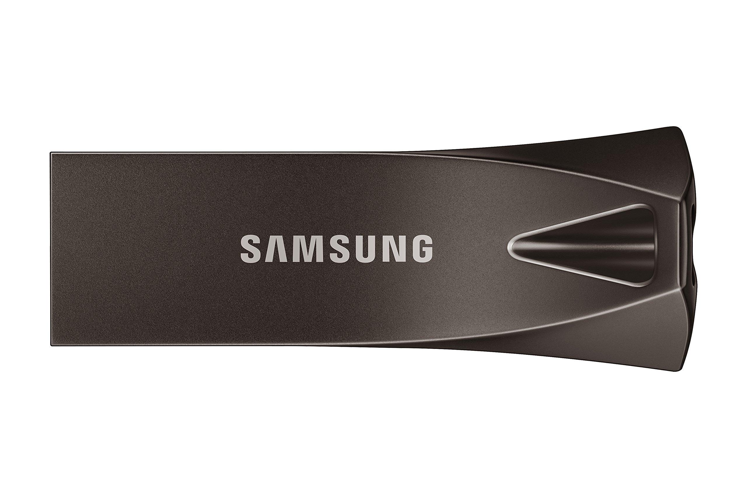 Samsung BAR Plus 128GB - 300MB/s USB 3.1 Flash Drive Titan Gray (MUF-128BE4/AM)