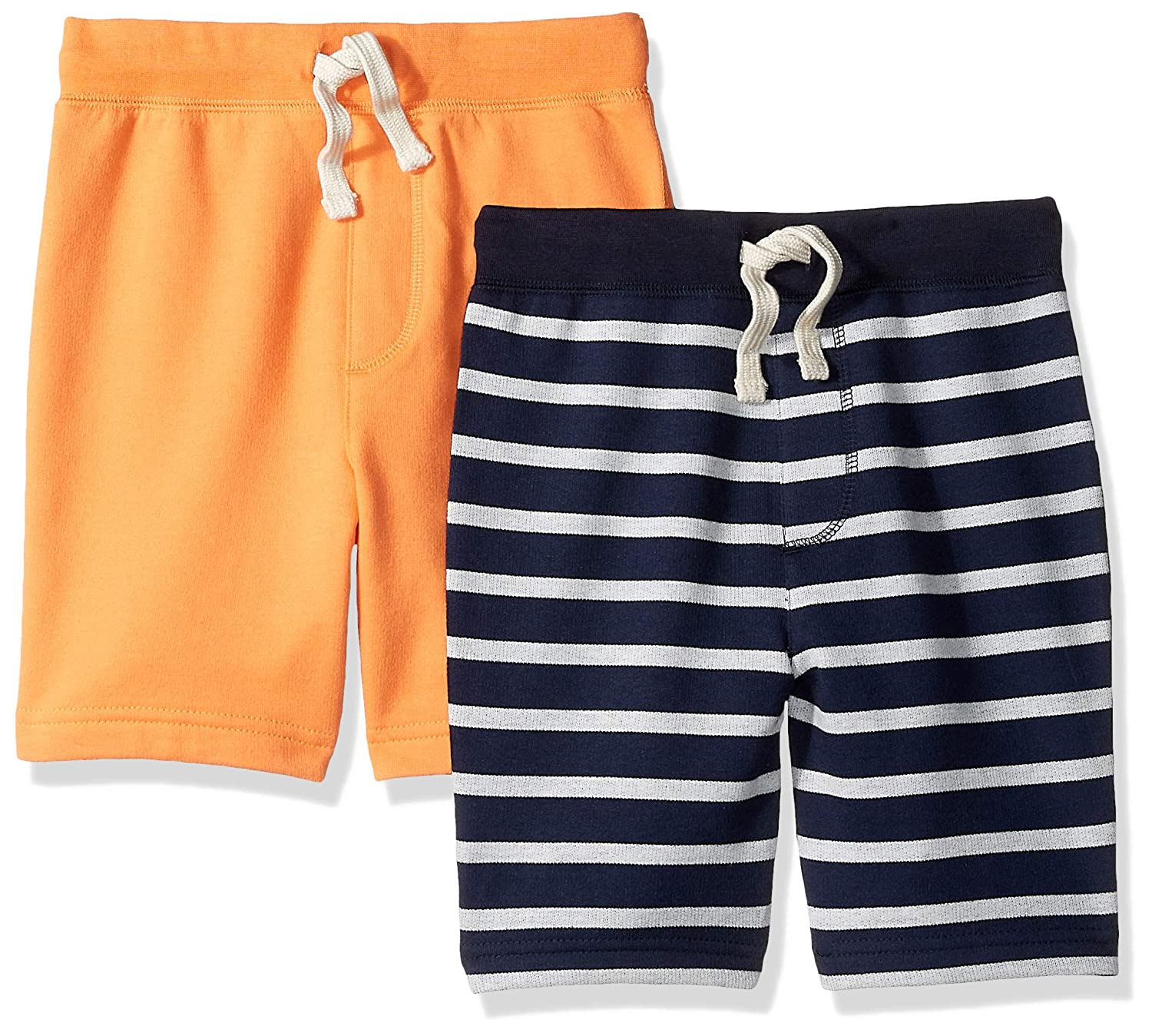 LOOK by crewcuts Boys 2-Pack Knit Pull on Shorts L3233