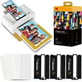 """Kodak Dock Plus Portable Instant Photo Printer, Compatible with iOS, Android & Bluetooth Devices, Real Photo (4""""x6…"""
