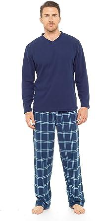 Polar Hombre Camiseta de Manga Larga Pijamas Juegos