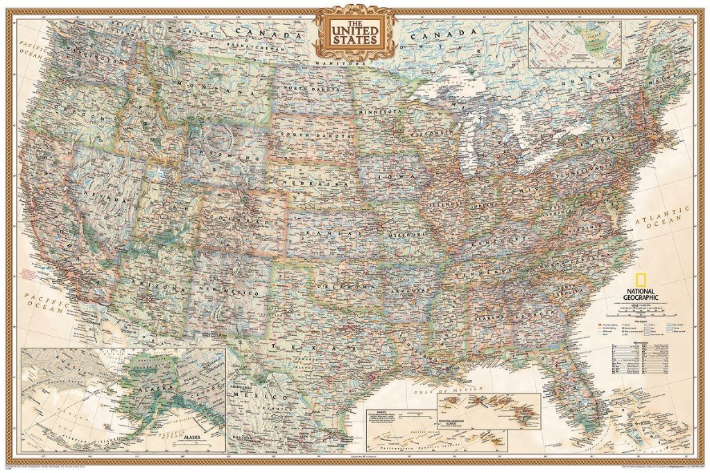 Amazoncom Framed Executive US Push Pin Travel Map X In Matte - Childrens us pushpin map