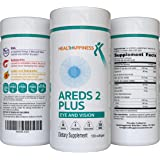 AREDS 2 Eye Vitamins for Macular Degeneration - Lutein 40mg with Zeaxanthin, Astaxanthin 12mg & DHA 200mg for Dry Eye & Eye S