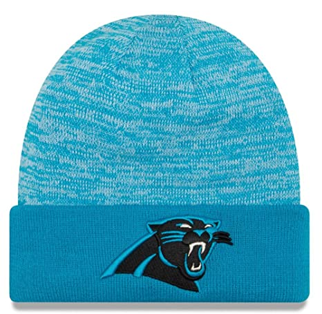 Image Unavailable. Image not available for. Color  Carolina Panthers New  Era NFL  quot Team Rapid quot  Cuffed Knit Hat fa447549b