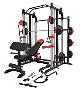 MiM USA Commercial Hercules 1001 Smith Machine & Functional Trainer
