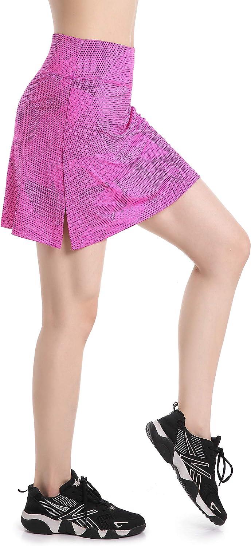 EAST HONG Womens Lightweight Running Short Skirt Fitness Movement Short Skirt