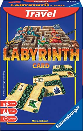 Ravensburger - Labyrinth Travel, Juego de Mesa (234158): Amazon.es ...