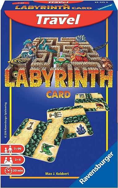 Ravensburger - Labyrinth Travel, Juego de Mesa (234158): Amazon.es ...