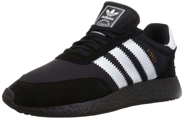 5ac65ea138a31 adidas Originals Men's I-5923 Running Shoe, Black/White/Copper Metallic,  4.5 M US