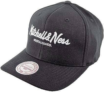 dccf9a27b8bb3 Mitchell   Ness Men Caps Snapback Cap Own Brand Pinscript High Crown 110  Black Adjustable