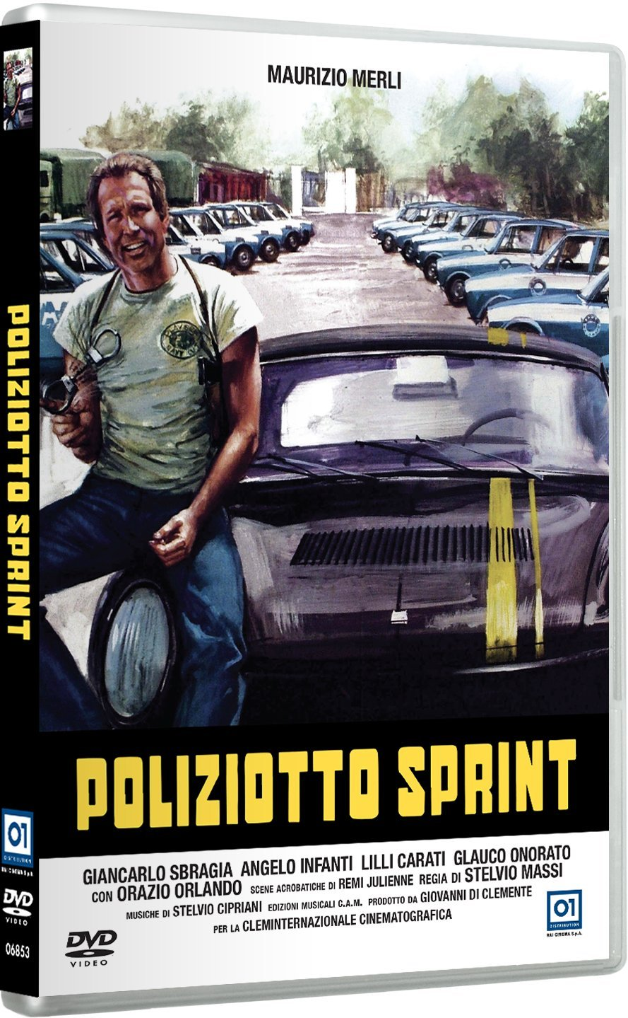 Poliziotto sprint (1977) DVD 9 2018