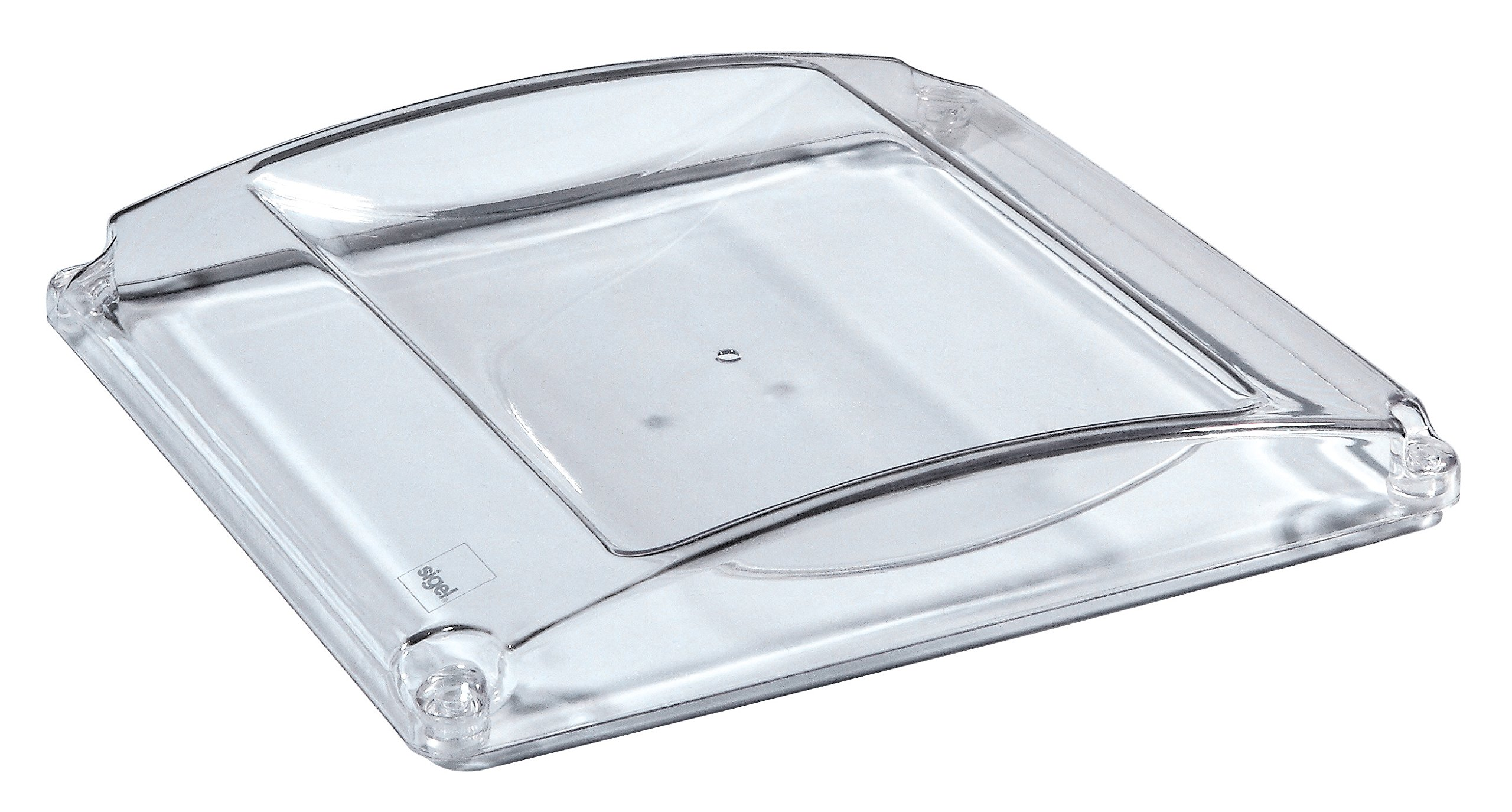 Sigel ZB141 Money tray Standard, clear, 7.09 x 7.48 x 1.18 inches