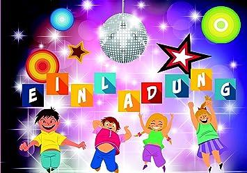 Schön LOL Einladungskarten Für Kindergeburtstag 10 Stück Im Set Smiley Emoji  Disco Party Für Jungen Und