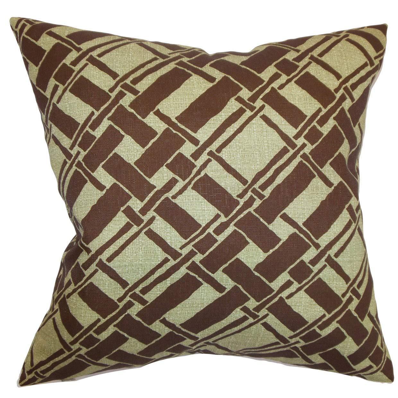 The枕コレクションRygge竹Desgin Down and Feather Filledの枕隠しジッパー付き18インチセージ   B073KS7FG3