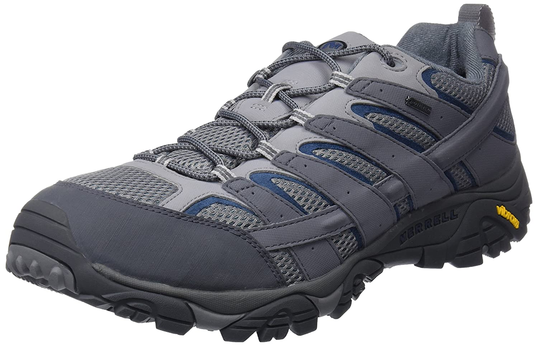 gris (Castlerock) Merrell Moab 2 GTX, Chaussures de Randonnée Basses Homme 42 EU
