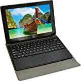 [1 Bonus item] Simbans Tango 10 inch tablet with Keyboard 2-in-1 Android 6.0 Marshmallow tablet 10.1 inch IPS screen, Quad Core, HDMI, 16GB Tablet PC, 2 + 5 MP Camera, GPS, WiFi, USB, Bluetooth