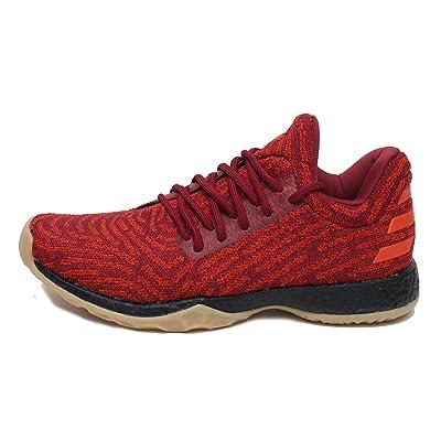 adidas Harden Vol. 1 LS Primeknit Shoe - Men's Basketball 9.5 Collegiate Burgundy/Mystery Ruby | Basketball