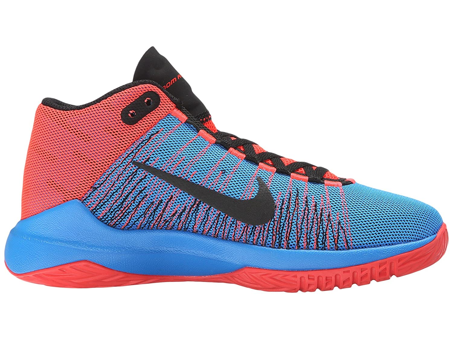 uk availability f8cc8 3c439 Amazon.com   Nike Zoom Ascention, Blue Orange, 6.5   Basketball