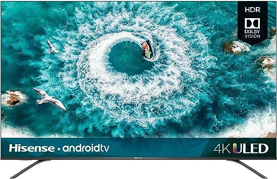 Amazon Com Hisense 55h8f 55 Inch 4k Ultra Hd Android Smart Uled Tv Hdr 2019 Electronics