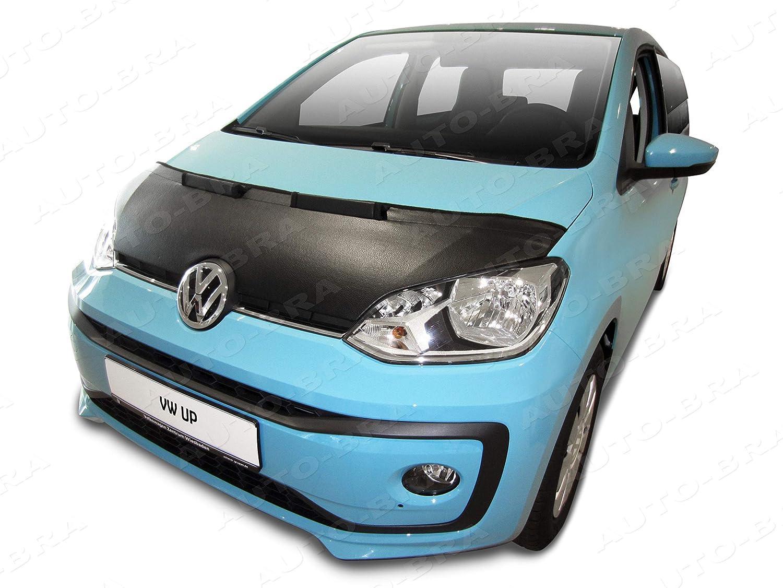 seit 2011 Haubenbra Steinschlagschutz Tuning Auto-Bra AB3-00428 Carbon Optik kompatibel mit VW Volkswagen UP Bj