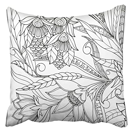 Amazon Com Emvency Decorative Throw Pillow Covers Cases Color
