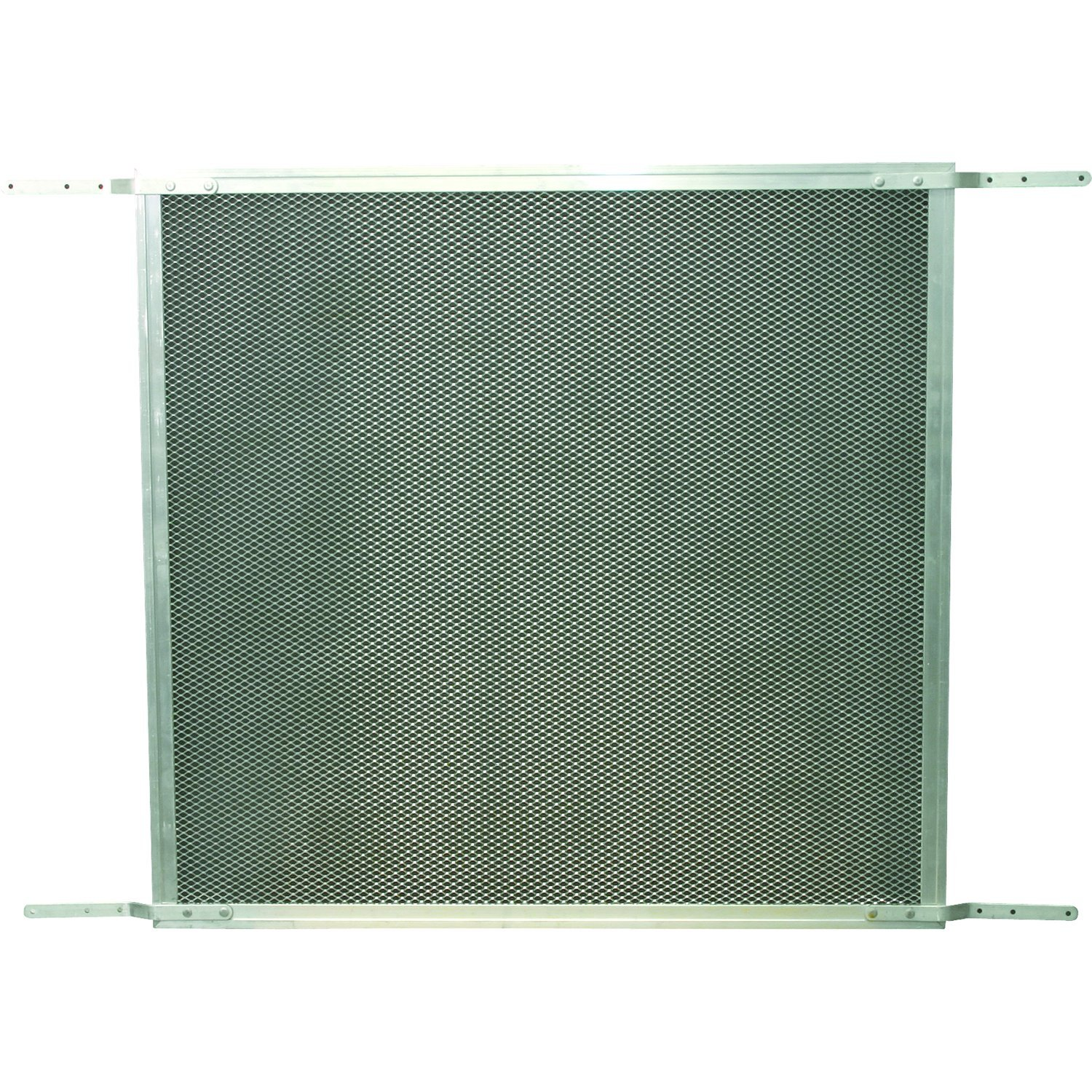 Prime-Line Products PL 15940 Patio Sliding Screen Door Grille with Aluminum Construction, 48'', Satin Finish