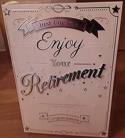 Tarjeta de jubilación y sobre: Amazon.es: Oficina y papelería