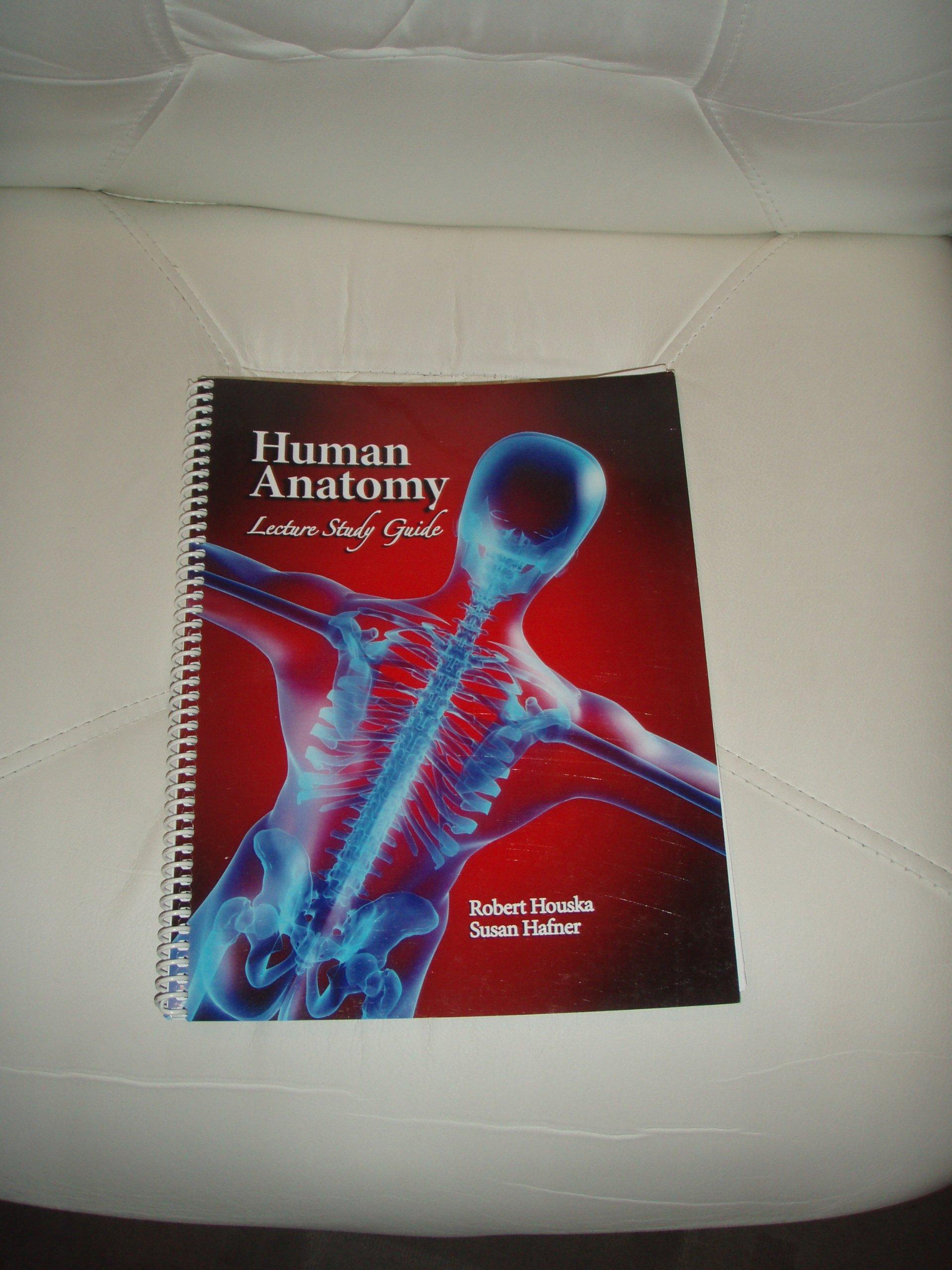 Human Anatomy Lecture Study Guide Amazon Books
