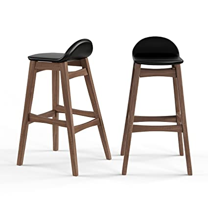 Pleasing Amazon Com Mattsglobal Mid Century Modern 30 Inch Barstool Pabps2019 Chair Design Images Pabps2019Com