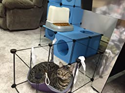 Frontpet do it yourself cat house condo diy for Do it yourself cat tower